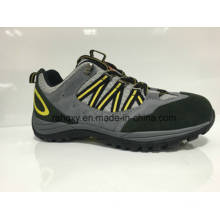 Grey Suede Cemented Safety Shoes (HQ0161033)