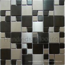 Mosaïque en mosaïque Mosaïque métallique en acier inoxydable (SM229)