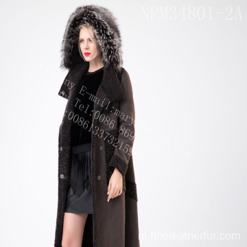 Lady Australië Merino Shearling bont in de winter