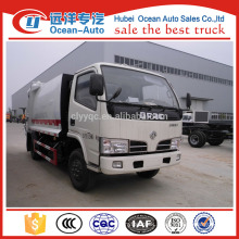 5000 liter compactor garbage truck