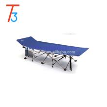 El precio barato modifica la cama plegable de la playa para requisitos particulares / cama plegable del ejército / cuna plegable que acampa