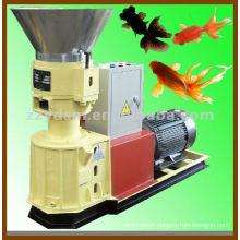 flat-die goldfish feed pellet machine (used for straw, sawdust, stalk)