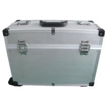 Boîte de transport en aluminium OEM Factory avec roues