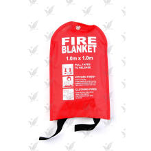 China Factory Fiberglass Fire Blanket Soft Bag