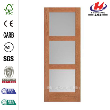 Germany 3-Panel Curved Glass Interior Sliding Closet Doors