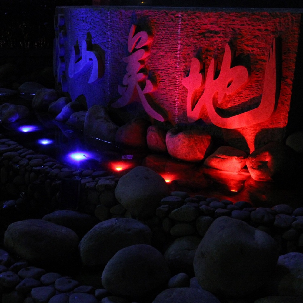 Underwater garden LED light