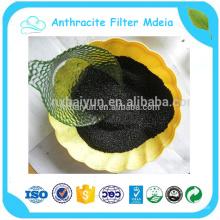 85% de preço do carvão antracite para o tratamento de água de meios de filtro de antracite