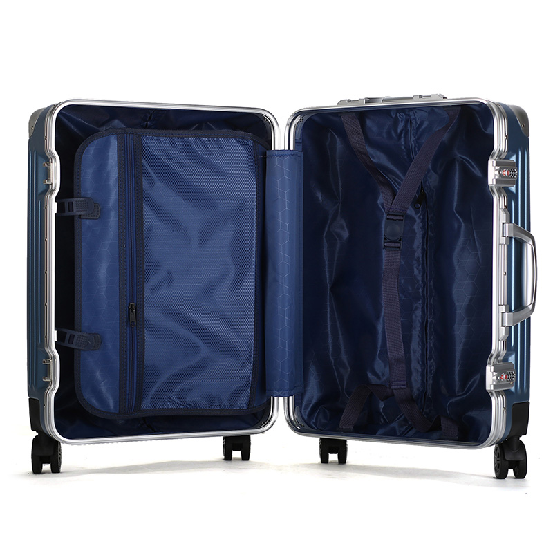 20 inch full aluminum travel trolley luggage8