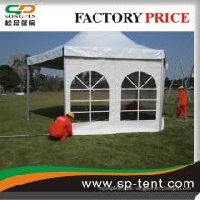 Elegantes weißes PVC Farbric Struktur Hexagon Zelt mit Fabrik Preis