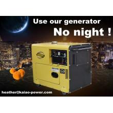 Дизельный генератор с воздушным охлаждением 5 кВт Генератор Дизель Цена продажи (CE, BV, ISO9001)