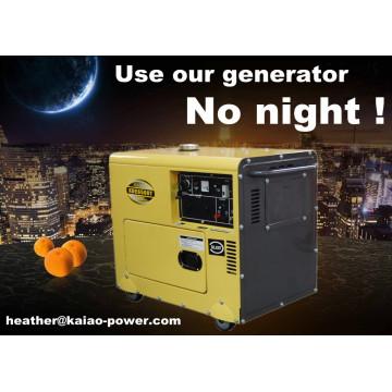 Air Cooled Diesel Generator 5kw Generator Diesel Sale Price (CE, BV, ISO9001)