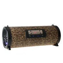 Cool Gadgets Karaoke System Wooden 5 inch 20W 3000mAh Portable Bluetooth Speaker