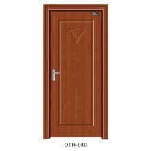 Puerta de PVC Puerta interior de puerta de madera (DTH-040)