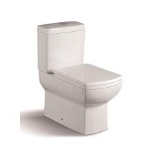 WC de duas peças de alta qualidade 092A com assento de tampa lento PP