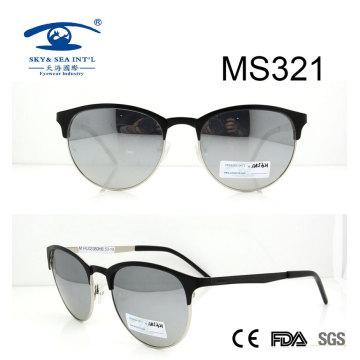 Gafas de sol de metal de la llegada de la forma redonda nueva (MS321)