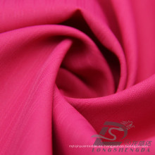 Resistente al agua y al aire libre ropa deportiva al aire libre chaqueta tejida rayado Jacquard 100% poliéster Pongee tela (E067)