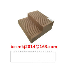 Decking composé de WPC résistant aux fissures pour le plancher d'utilisation extérieure