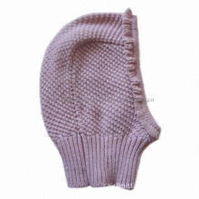 Knitted Hat for Children, Suitable Winter Season
