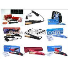 Wholesale blue color hair straightener,flat irons,free shipping