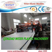 CE ISO high output of PVC furniture panel making machine