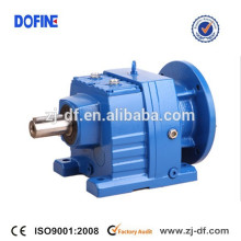 Helical geared reducer reductor with IEC flange for agitator