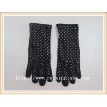 Дамы платье перчатки