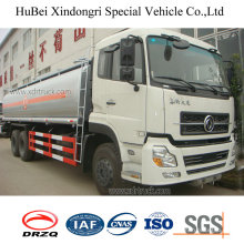 18cbm Dongfeng Euro 3 Petrol Gasoline Oil Fuel Tank Truck with Cummins Engine