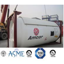 20FT 25000 Л высокая прочность углерода СНГ танк-контейнер по Reasonble цене