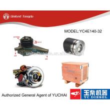 Pièces de moteur YC4E140 d'origine yuchai pour bus Kinglong