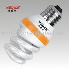 Lámpara ahorro de energía solar vertical al por mayor de la fábrica 12V sprial en venta