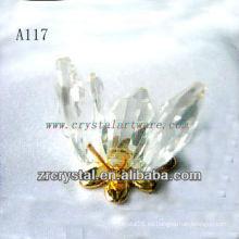 Bonita estatuilla de cristal animal A117
