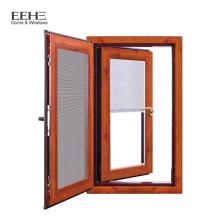 Pinos de janela de alumínio janela de deslizamento vertical de alumínio janela de batente de alumínio