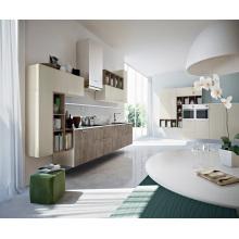 Open Kitchen Lacquer Melamine Kitchen Cabinets