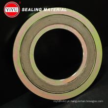 Metal Spiral Wound Gasket (aço carbono)