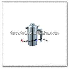 Pote de café em aço inoxidável Straight Double Ply T167