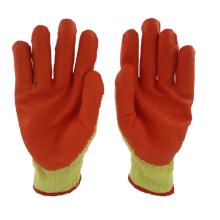 Wholesale cheap latex coated working safety neoprene  work glove en388