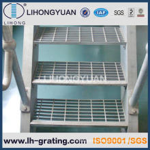 Galvanized Serrated Steel Grating for Steel Structure Ladder