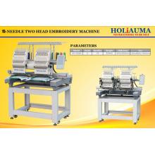 HOLiAUMA La mejor opción 2 cabezas DAHAO automatizó la máquina del bordado para la venta