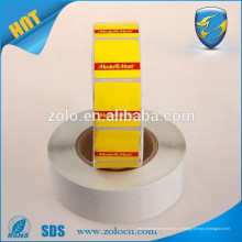2016 preço barato EAS label adhensive sticker roll à venda