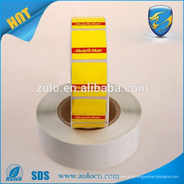2016 cheap price EAS label adhensive sticker roll for sale