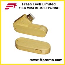 Bambus und Holz-Stil USB-Stick mit Logo (D806)
