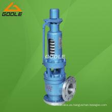 Válvula de alivio de seguridad de presión de elevación completa con resorte de la serie W (GAA48Y)