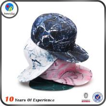 tie dye flat brim printing snapback cap