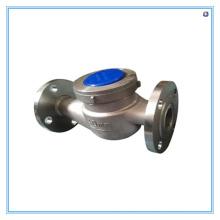 Flüssigkeits-Turbinen-Durchflussmesser Edelstahl-Wasserzähler