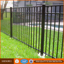 Short Wrought Iron Garden Fence Railing