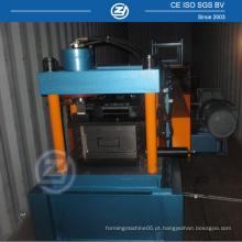 C Purlins Machine com dispositivo de perfuração opcional