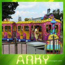 Les amusements pour enfants font du train électrique à vendre