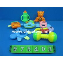 Mais novo plástico baby bell set brinquedos educativos (975403)