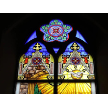 Decoration Use Stained Windows Roof Color Architectural Church Glass