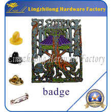 Badges en émail personnalisés en alliage de zinc